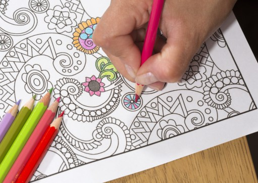 The Therapeutic Benefits Of Adult Coloring Books